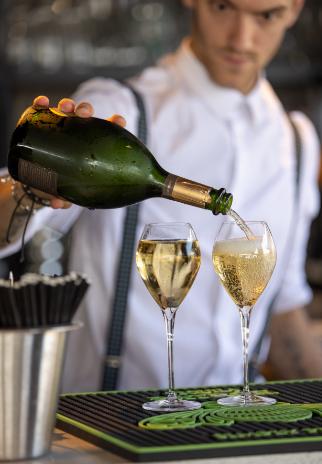 Champagne restaurant Ondine