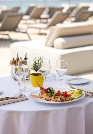 Table restaurant Ondine