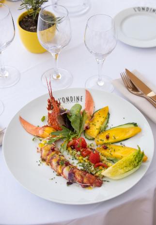 Plats restaurant Ondine