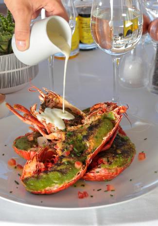 Plats Homard restaurant Ondine