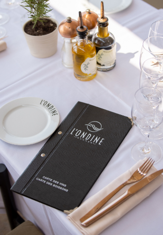 Menu Restaurant Ondine
