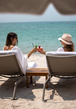 Photo cocktail sur la plage